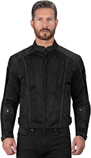 Viking Cycle Textile Warlock Mesh Motorcycle Jacket for...
