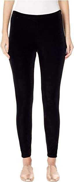Stretchy Velvet Ankle Leggings