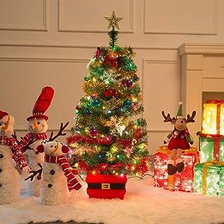 Dream Loom 60cm Árbol de Navidad de Mesa, Árbol de Navidad de Pino en Miniatura