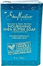 Shea Moisture Sea Kelp & Pearl Protein Nourishing Butter Soap Bar for Unisex, 8 Ounce