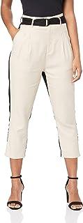 THIRD FORM Women's 2 Tone Trouser, Sand/Black