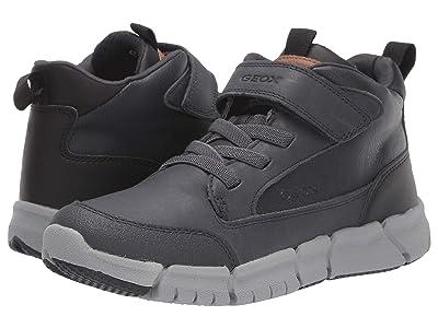 Geox Kids Jr Flexyper 9 (Big Kid) (Navy/Black) Boys Shoes