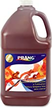 PRANG Ready-to-Use Liquid Tempera Paint, 1 Gallon Bottle, Brown (22807)