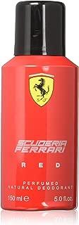 Ferrari Deodorant Spray, Red, 5 Ounce
