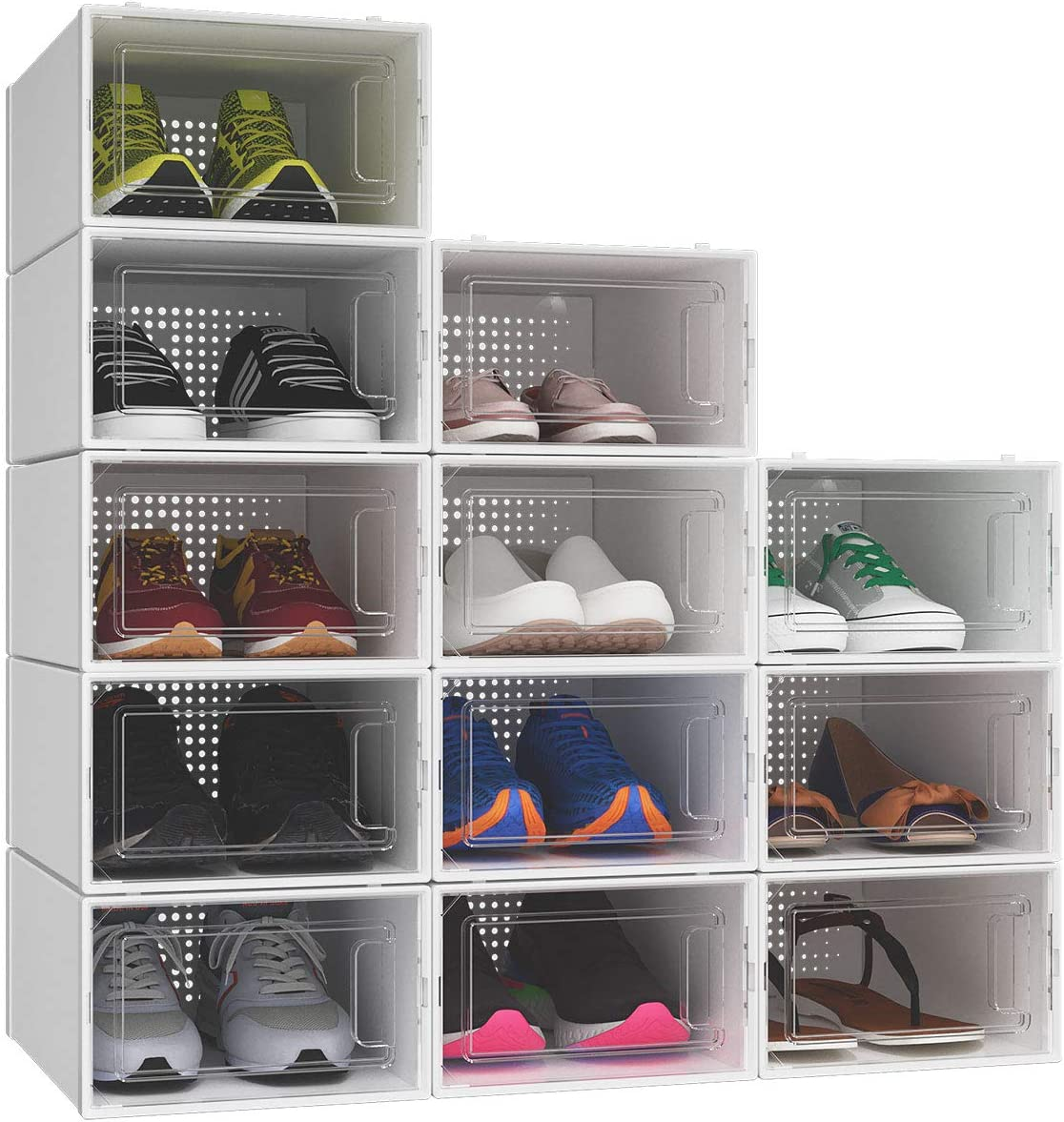 Buy YITAHOME Shoe Box, Set of 20 Small Size Shoe Storage ...