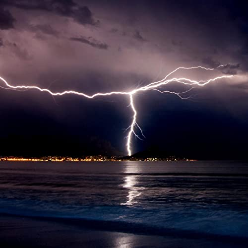 Thunderstorm and Rain Sounds over the Ocean by Acerting Art