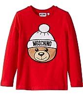 Moschino Kids - T-Shirt w/ Hat Toy Bear (Little Kids/Big Kids)