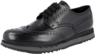 Men's 4E2604 Full Brogue Leather Business Shoes
