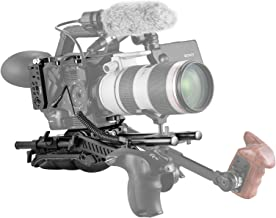 SMALLRIG Professional Accessory Kit for Sony FS5, with Top Plate, Side Plate, Base Plate, Rosette Arm, Shoulder Pad - 2007
