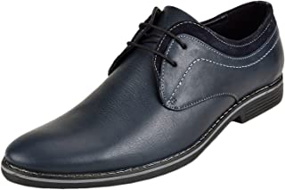 CHAMOIS Men's Formal Leather Black Oxford Shoes || Handmade Genuine Leather Shoes for Men