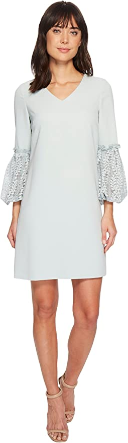 Tahari by ASL - Lace Sleeve Shift Dress