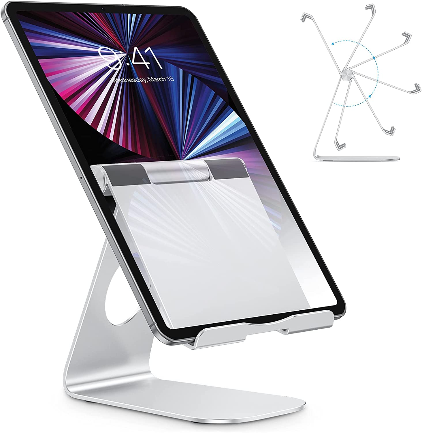 Omoton Adjustable Tablet Smartphone Stand $9.99 Coupon