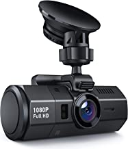 Crosstour Dash Cam 1080P FHD DVR Car Dashboard Camera Video Recorder for Cars 170° Wide Angle WDR with 2 inch LCD Night...