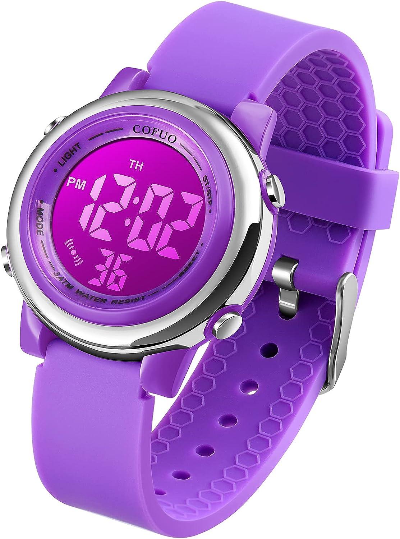 Kids Portland Mall Digital Sport Overseas parallel import regular item Waterproof Watch for Sports Girls Kid O Boys
