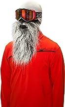 Beardski Masque de ski biker Gris