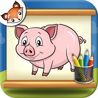 How to Draw Farm Animals Step by Step Drawing App