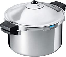 Kuhn Rikon Duromatic Hotel Stainless Steel Pressure Cooker with Side Grips, 12 Litre / 28 cm