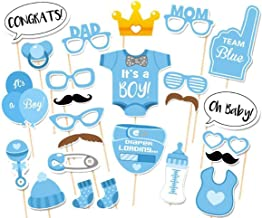 baby shower photo booth props boy