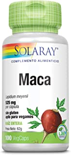 Solaray Maca 525mg | 100 VegCaps