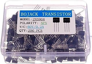 S8550 S9012 2N3904 13001) C1815 A1015 S9013 Jolicobo 200 pcs 10 Values Silicon NPN PNP Power Transistor Assortment Kit( S8050 S9014 2N3906
