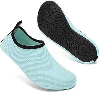 Mabove Chaussures de Sport Aquatique de Plage de Mer de Piscine Pieds Nus à séchage Rapide Yoga Chaussettes Slip-on pour H...