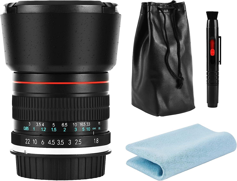 JINTU 85mm F1.8 Portrait Prime Price reduction Fixe Telephoto Length Quality inspection Focal Lens