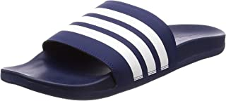 adidas adilette cloudfoam plus stripes men's slides