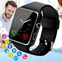 Peakfun Smart Watch,Android Smartwatch Touch Screen Bluetooth Smart Watch for Android Phones Wrist Phone Watch with SIM Ca...