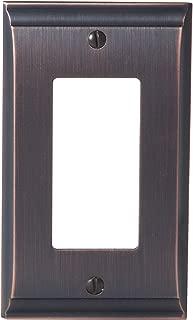 Amerock BP36504ORB Candler 1 Rocker Wall Plate - Oil-Rubbed Bronze