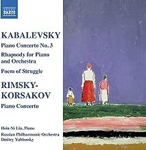 Kabalevsky: Piano Concerto No. 3 / Rimsky-Korsakov: Piano Concerto
