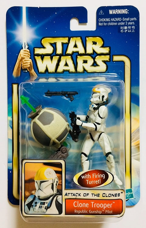 [Star Wars treasure from large release] Star Wars ATTACK Of The CLONES Clone Trooper Republic Gunship pilot Ver (japan import)
