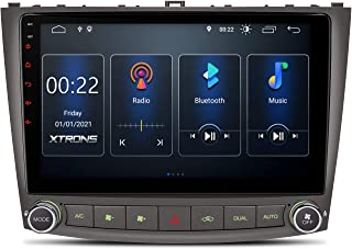 XTRONS Android 10 Car Stereo Radio Player 10.1 Inch IPS Touch Screen GPS Navigation Built-in CarAutoPlay/DSP Bluetooth Head Unit Support Full RCA Backup Camera OBD2 DVR for Lexus IS250 IS300 IS350