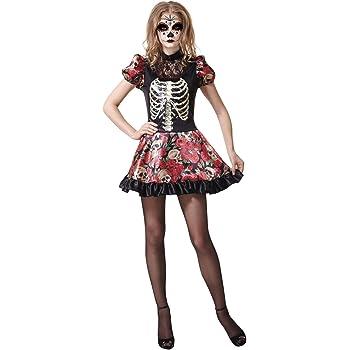 My Other Me Me-202279 Disfraz muñeca Día de los Muertos para mujer ...