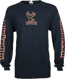 BUCKED UP Men's Mud Logo Long Sleeve Shirt - 316071