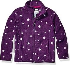 Amazon Essentials Girls' Full-Zip Polar Fleece Jacket