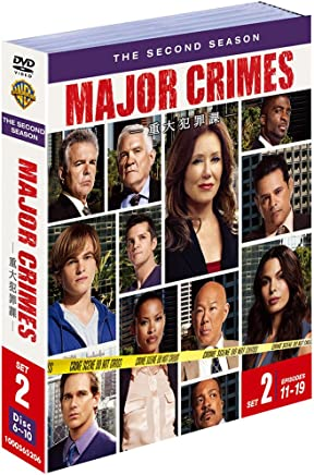 MAJOR CRIMES ~重大犯罪課 2ndシーズン 後半セット (11~19話・5枚組) [DVD]