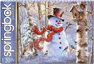 Springbok 120 Piece Jigsaw Puzzle Winter Friends