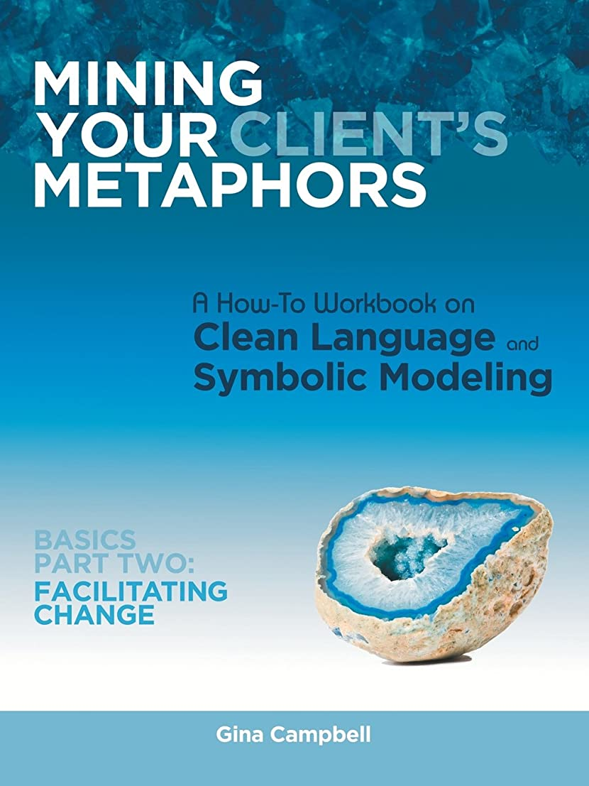 Mining Your Client's Metaphors: A How-To Workbook on Clean Language and Symbolic Modeling, Basics: Facilitating Change