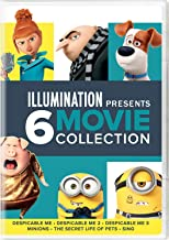 Illumination Presents: 6-Movie Collection (Despicable Me / Despicable Me 2 / Despicable Me 3 / Minions / The Secret Life of Pets / Sing)