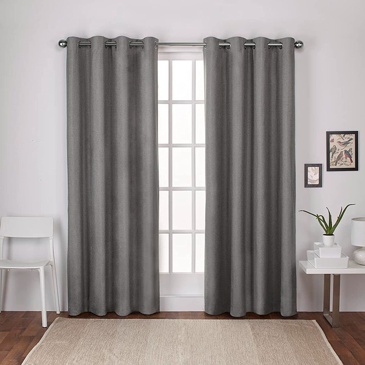Exclusive Home Curtains London Textured Thermal Linen Window New York Mall cheap Cur