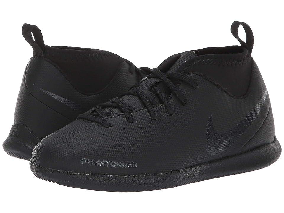 Nike Kids Jr. Phantom Vision Club DF IC Soccer (Toddler/Little Kid/Big Kid) (Black/Black/Light Crimson) Kids Shoes