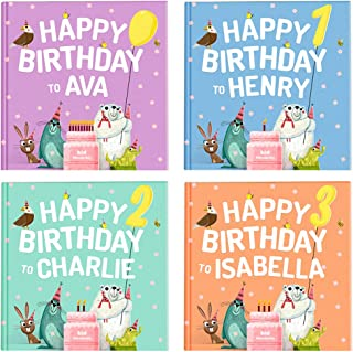 Personalized Kids' Book - Happy Birthday to You | Wonderbly | Personalized Birthday Gift (Hardcover)