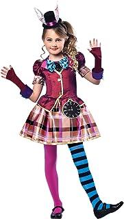 comprar comparacion Niña Muchachas Sombrerero Loco Mad Hatter Disfraces Disfraz Alicia en el País de Las Maravillas (11-12 años)