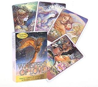 愛のささやきオラクルカードタロットカードフレンズファミリーパーティーホリデーハッピーボードゲームギフトカード,only tarot,Tarot Cards