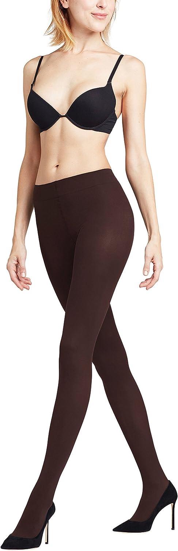 FALKE Womens Tights, Pure Matte Pantyhose 50 Denier, Semi Opaque Stockings for Women, Brown (Cigar 5229), M (US 12-14 Ι EU 40-42), 1 Pair