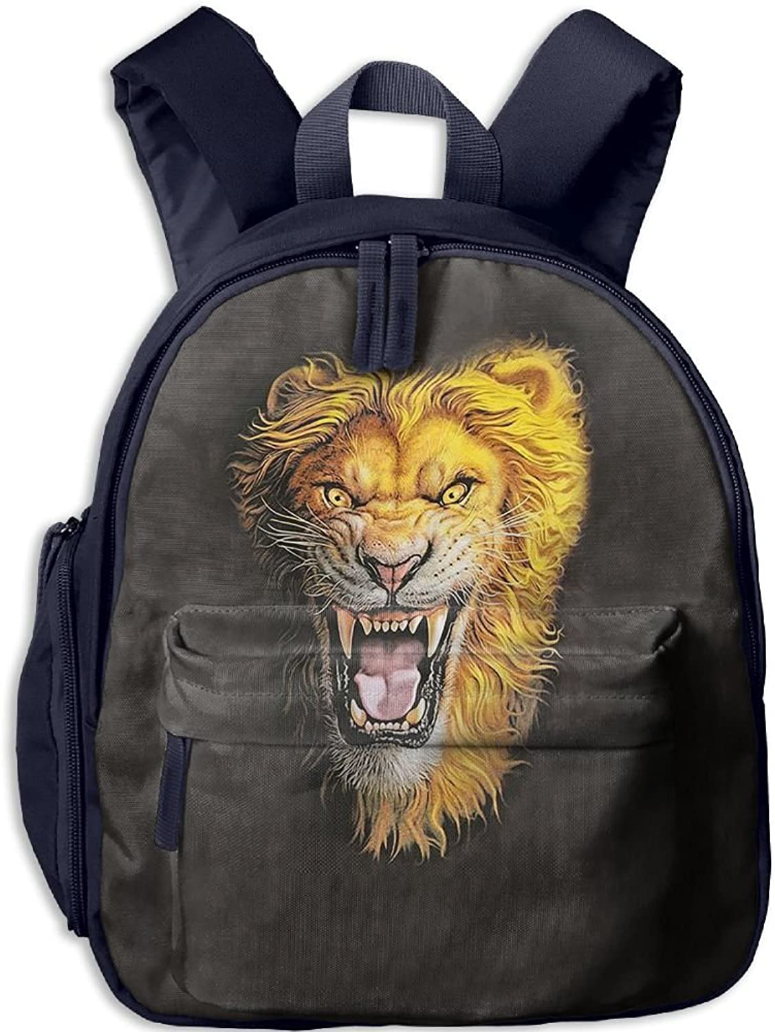 School Bag Asian Lion With Durable Travel Camping Backpack For Boys And Girls
