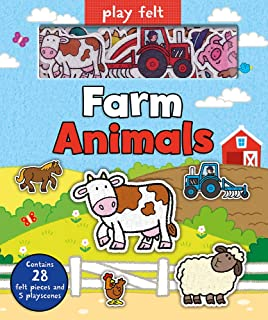 Farm Animals (Soft Felt Play Books)