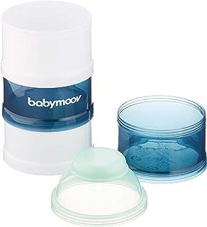 موزع مسحوق الحليب لجرعات الاطفال من بيبي موف - ازرق قطبي، عبوة واحدة