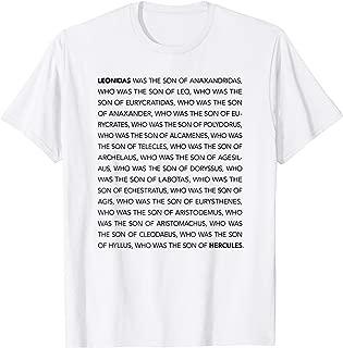 Spartan King Leonidas Lineage to Hercules Ancient Greek #2 T-Shirt