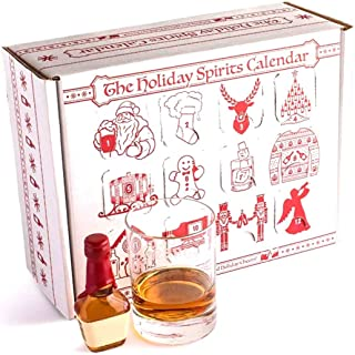 Advent Calendar for Alcohol & Adults | Gift Booze & Wine for Christmas 2020 | Great White Elephant & Holiday Party Hostess...